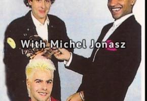 With Michel Jonasz